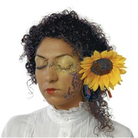 a tribute to van gogh: i color your return with my eyelashes, with the golden beams of the sun by anisa ashkar