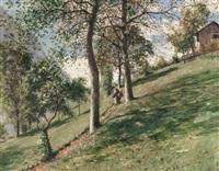 le petit chemin, proveysieux by jean-célestin-tancrède bastet