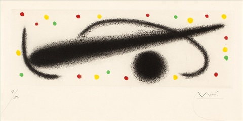 from fusees by joan miró