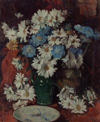marguerites and scabia by david alison