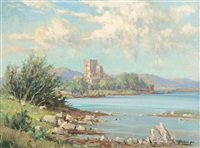doe castle, mulroy bay, co. donegal by rowland hill