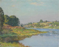 on the river (no. 2) by willard leroy metcalf