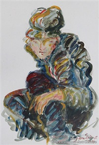 boy crouching no. 4 by jane evans