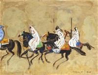les cavaliers by hassan el glaoui