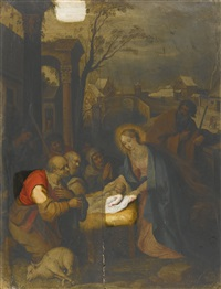 the adoration of the shepherds by frans francken the younger