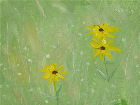 black eyed susans by alex katz