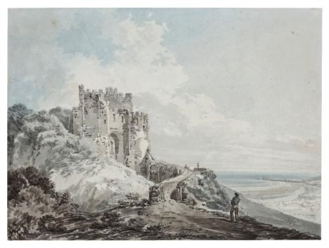 the constables tower dover castle by joseph mallord william turner