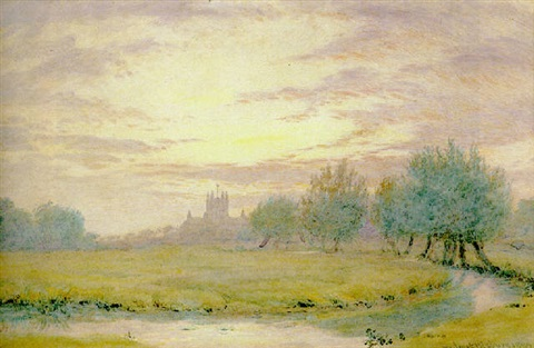 tewkesbury abbey by wilmot pilsbury