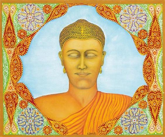 bouddha by victor simon