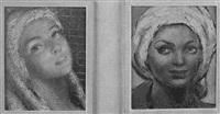 rostro femenino by jesus de perceval
