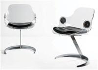 paire de fauteuils by boris tabakoff