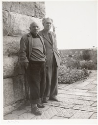picasso et erhembourg 1954 by andré villers