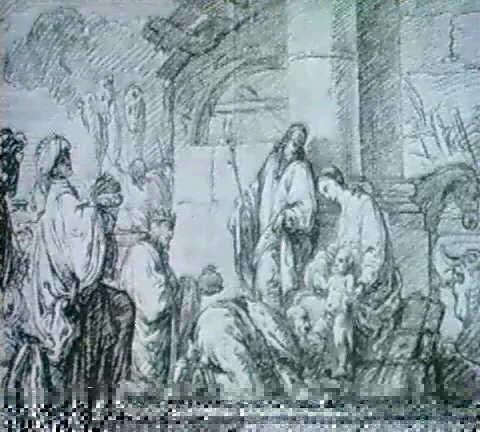 die anbetung der konige by melchior steidl