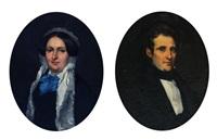 portrat eines eleganten hern und dame by jean marius fouque
