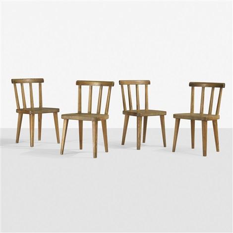 utö chairs set of 4 by axel einar hjorth