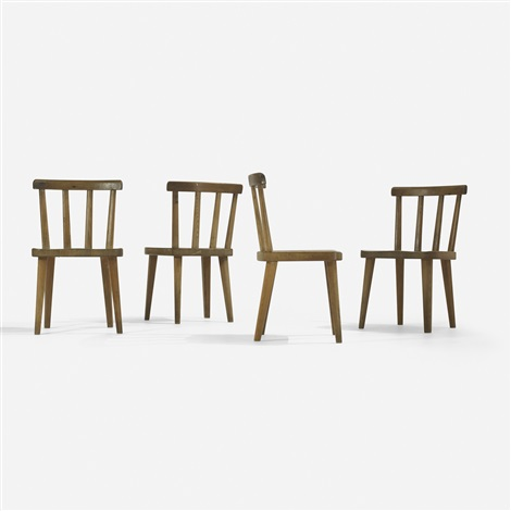 utö chairs set of 4 by axel einar hjorth