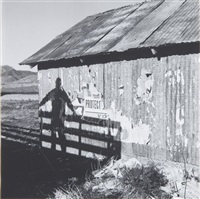 untitled (barn shadow) by dennis hopper