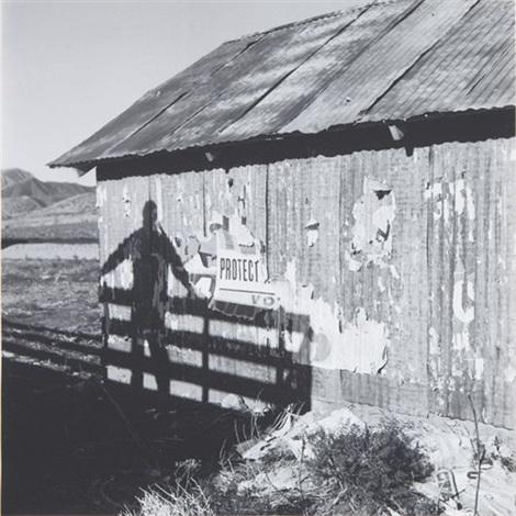 untitled (barn shadow) by dennis hopper