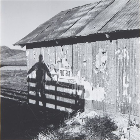 untitled barn shadow by dennis hopper
