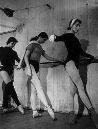 école de danse de l'opéra, 1953 by brassaï