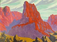 red rock canyon by jacob asanger