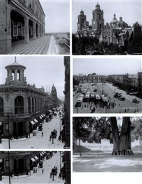 mexico & chapultepec (album of 49, incl. 2 panoramic photos, lrgr) by guillermo kahlo