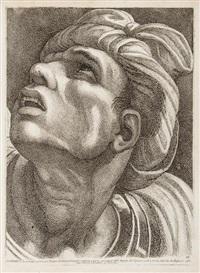 teste scelte di personaggi illustri in lettere, e in armi ... da rafaello d'urbino .. (85 works) by paolo fidanza
