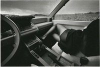 auto-psy, passagère by jeanloup sieff
