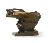 der rächer (the avenger) by ernst barlach