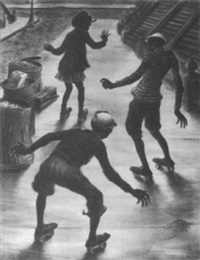the skaters by lawrence beall smith