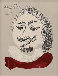 from 'imaginary portraits' by pablo picasso