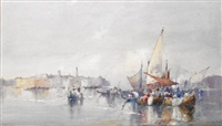 venetian lagoon by william knox