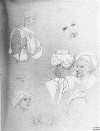 hommes orientaux by théodore valerio