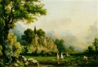 paysage by barthélemy lauvergne