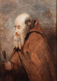 a mendicant friar by albert george adams