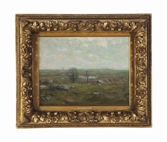 a rocky landscape by henry ward ranger