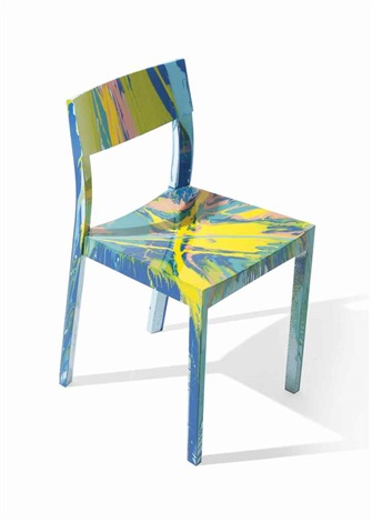 Beautiful Arrested Development Spin Chair By Damien Hirst