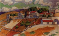 safed, israel by archibald ziegler