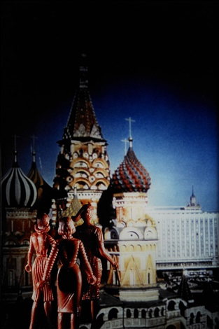 tourism st basil 2nd view by laurie simmons