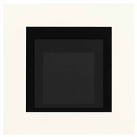 late (from soft edge-hard edge) by josef albers