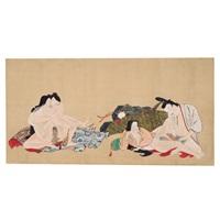 handwritten higa, 12 scenes by iwasa matabei