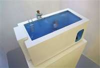 swimming pool (model) by leandro erlich