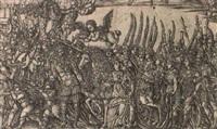 the triumph of the unicorn, pl.3 by jean duvet