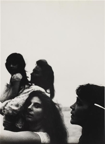 mary andrea barbara forst and dody miller by robert frank