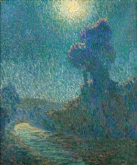 a moonlit path by hugh henry breckenridge