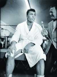 cassius clay by henry grossman