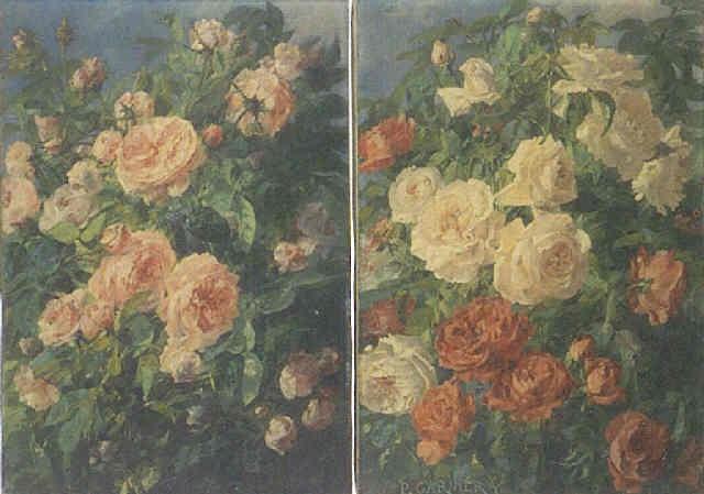 branche de roses by pierre garnier