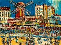 paris, moulin rouge by carlo battisti