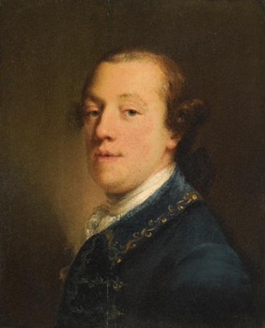 portrait of a gentleman by john astley