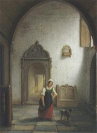 kleines interieur by casparis van haanen